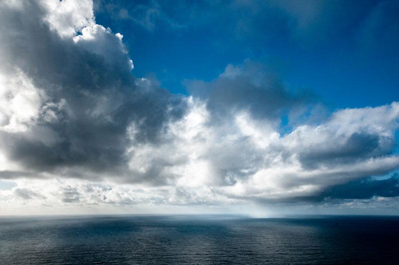 Ciel de l'Atlantique