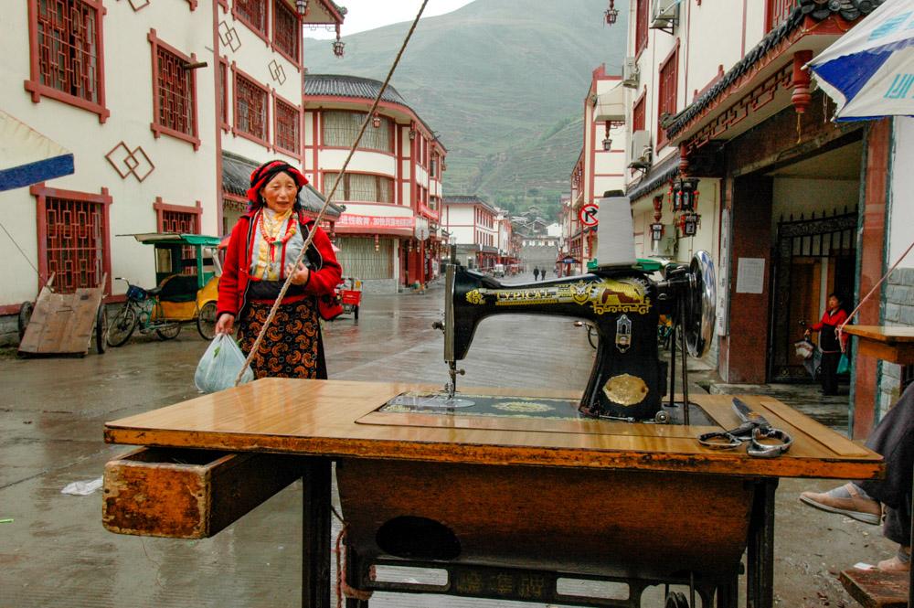 Songpan, chez le tailleur