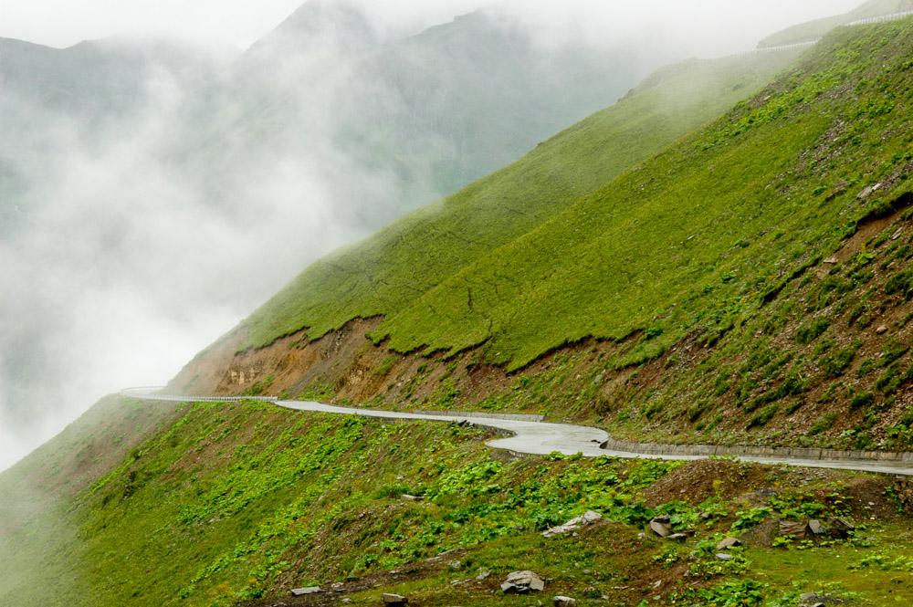Route du col de Balangshan