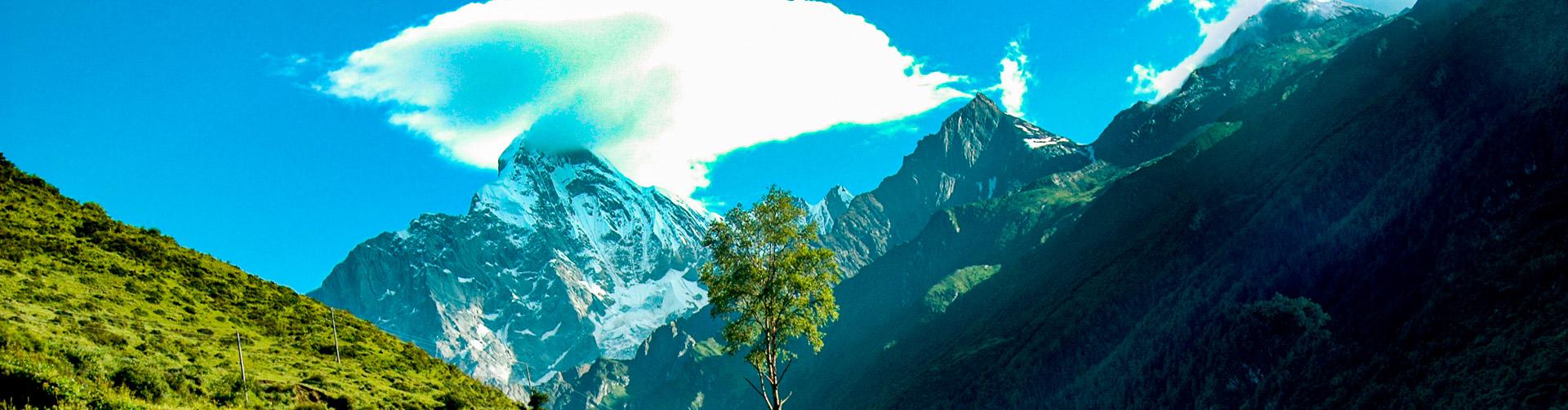 Siguniang Shan, la vallée de Changping
