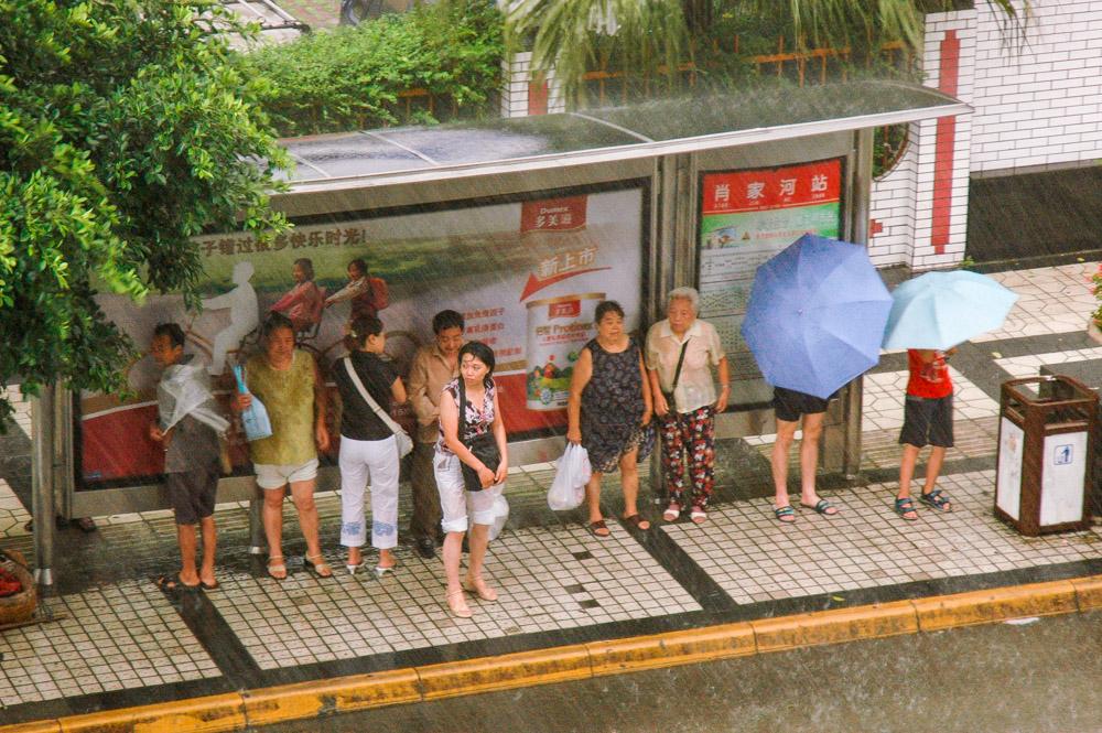 L'orage s'est abattu sur Chengdu