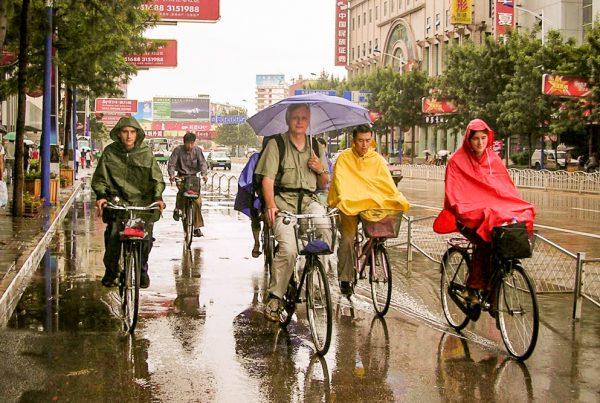 Le vélo sous la pluie