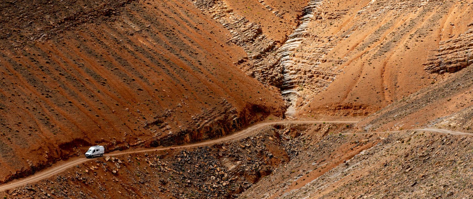 Les gorges du Dadès <br/>et la vallée des Roses
