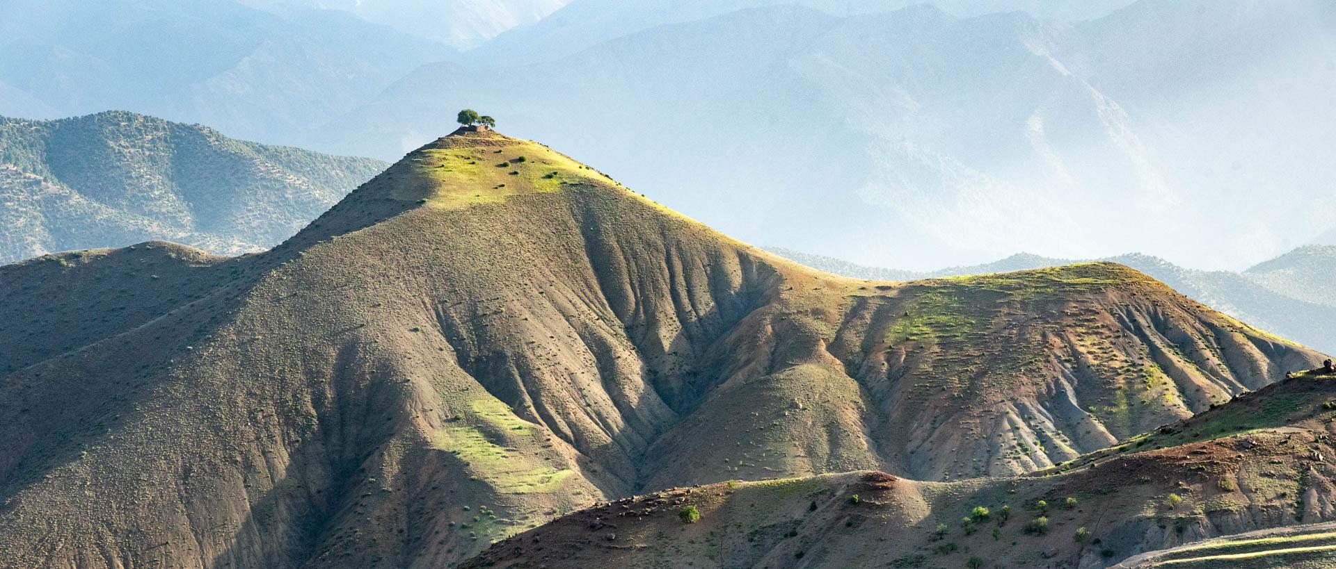 D'Aït Ben Haddou <br/>aux montagnes de l'Atlas