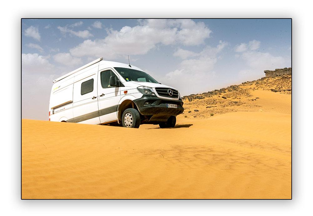 Sprinter dans les dunes