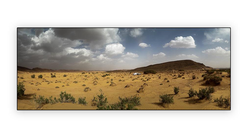 tempête dans le désert