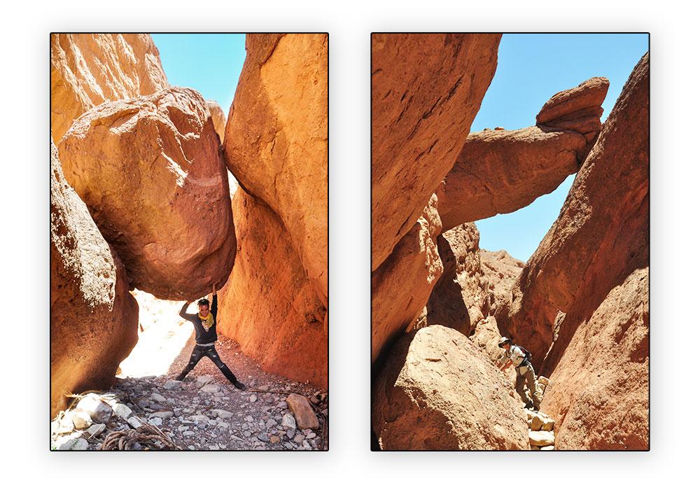 canyon des doigts de singes