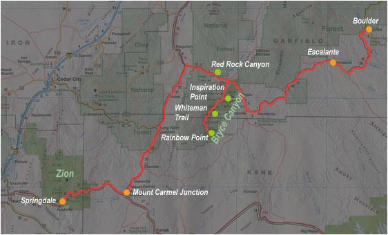 Carte de Springdale à Boulder