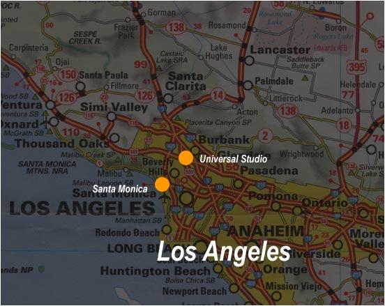 Carte Los Angeles