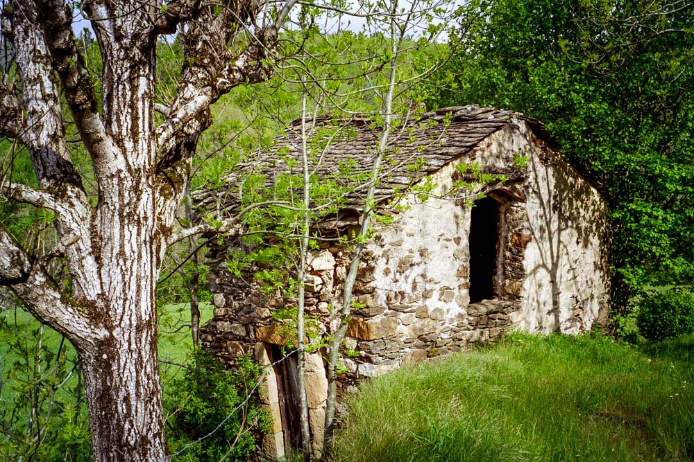 ruines d'une bergerie