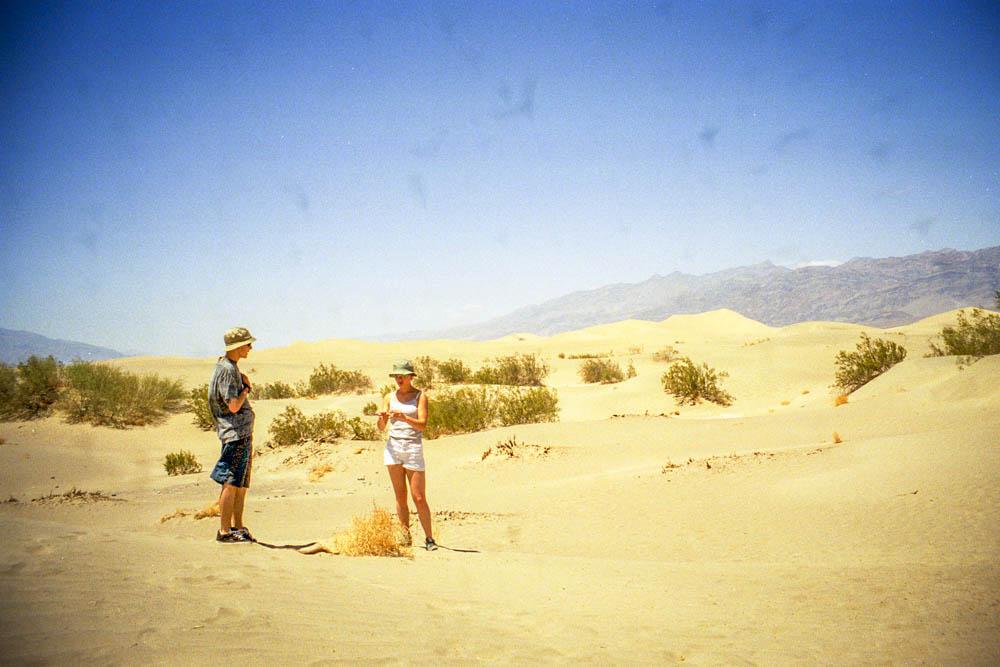 Les dunes de sable
