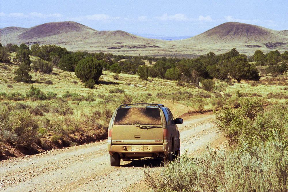 Sur la piste vers Kanab