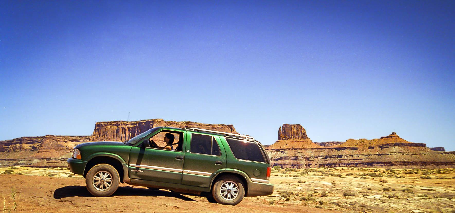 Canyonlands, Shafer trail, <br/>White Rim trail, Potash