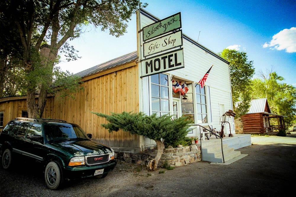 Baker , le Silver Jack Motel