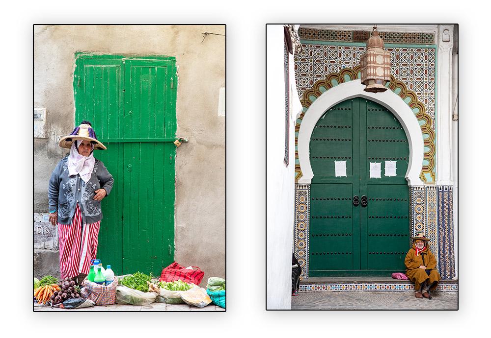 marchande et mosquée