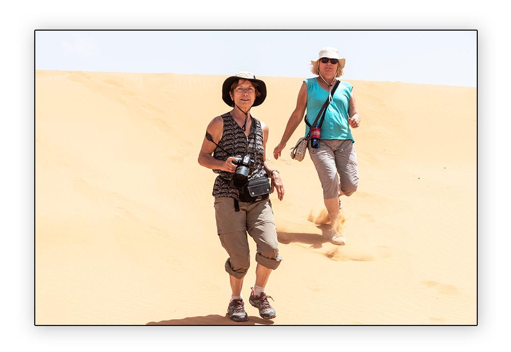 Descente de dune