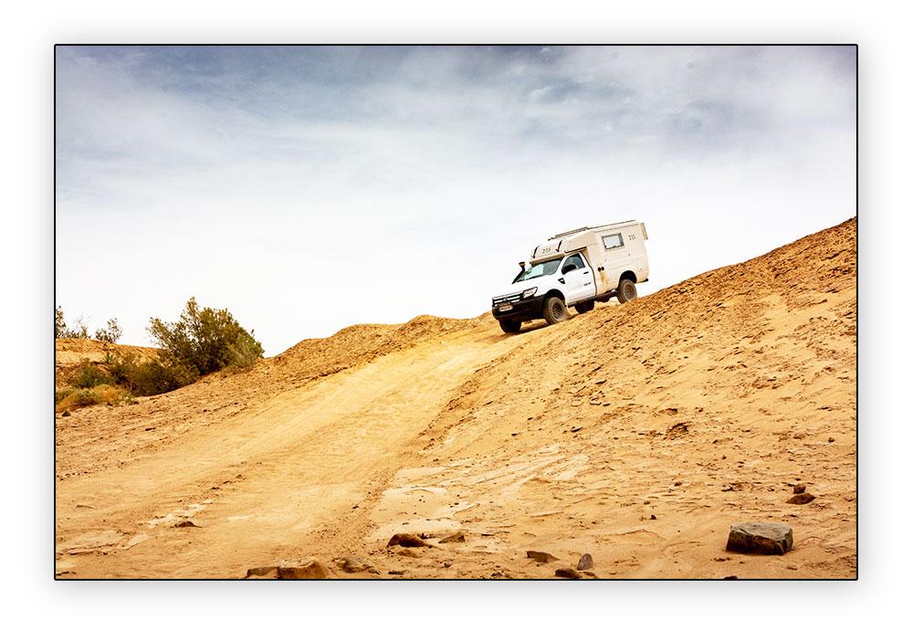 Ford Ranger en descente