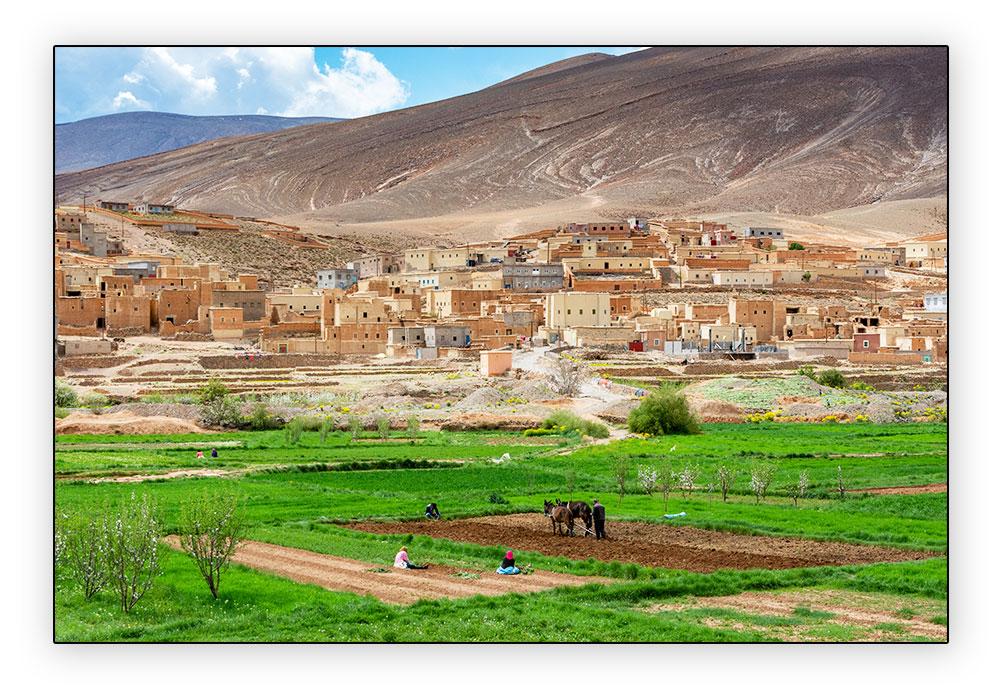 village de la vallée du Dadès