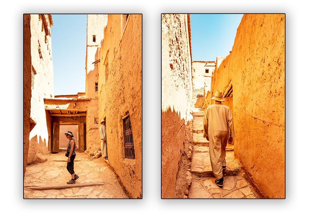 rues d'Aït Ben Haddou