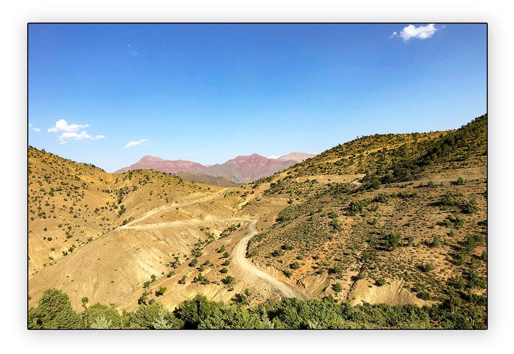 route R307 au Maroc