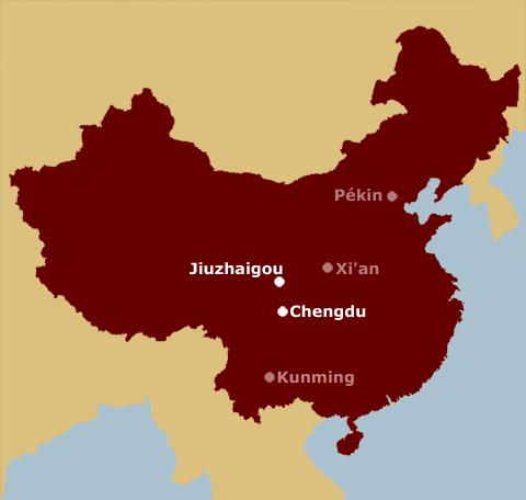 Carte dee Chine