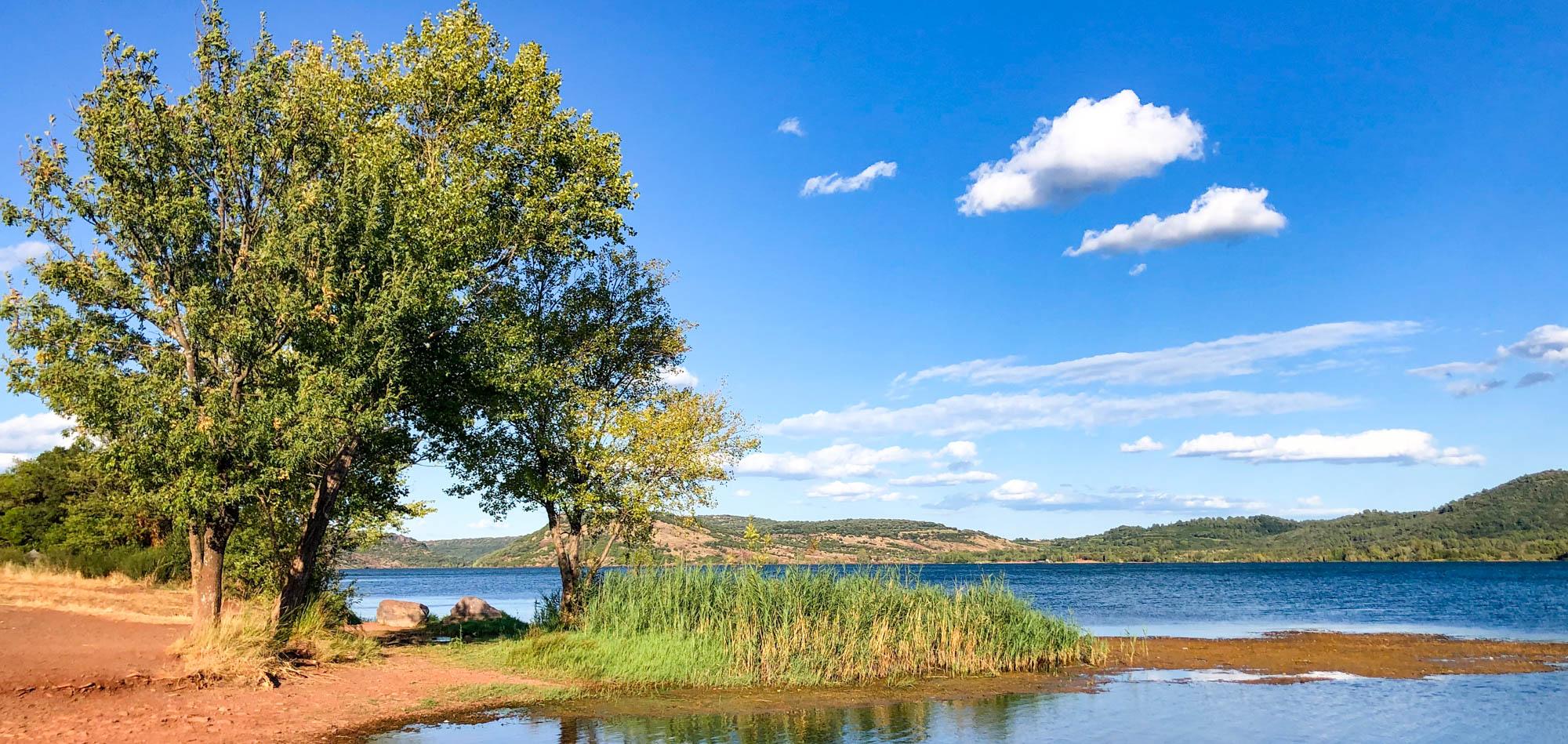 De Lignerolles au lac du Salagou