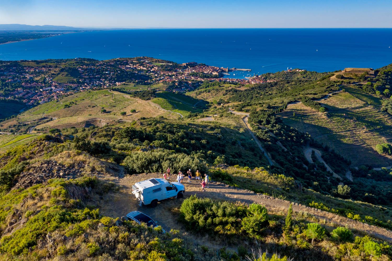 Au-dessus de Collioure