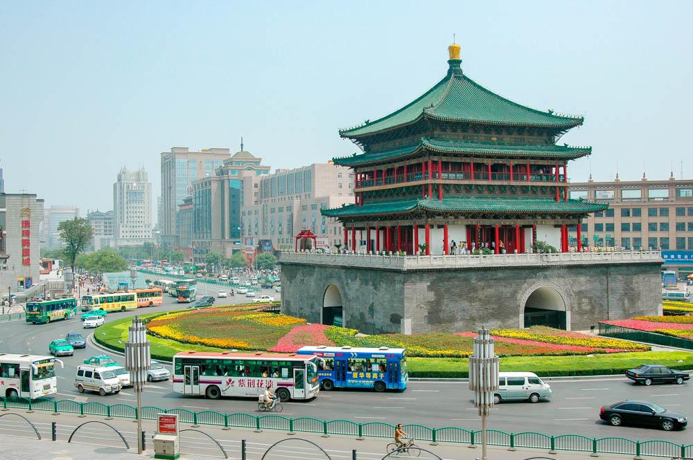 Xi'an, la tour de la Cloche