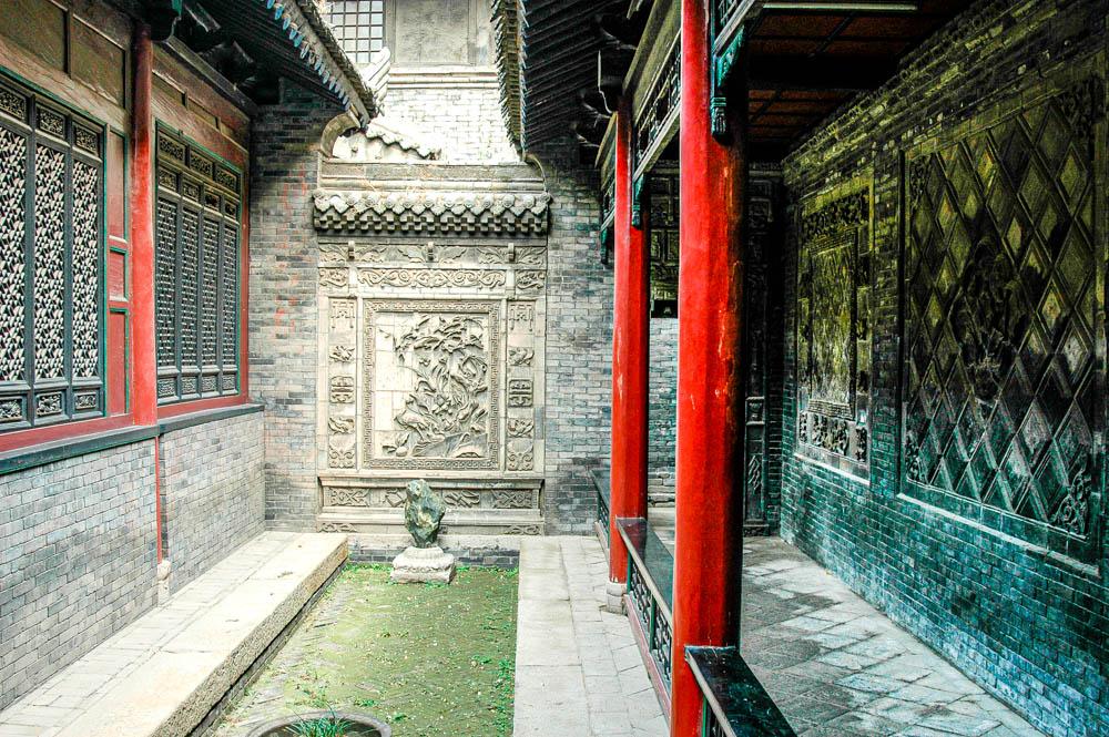 Une cour dérobée de la Grande Mosquée