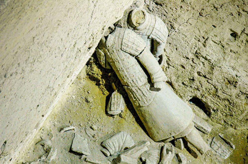 Les soldats de la fosse N°3 sont particulièrement abîmés