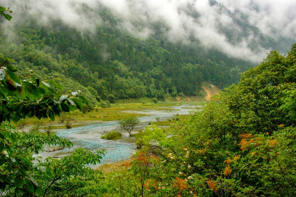 Vallée du Jiuzhaigou