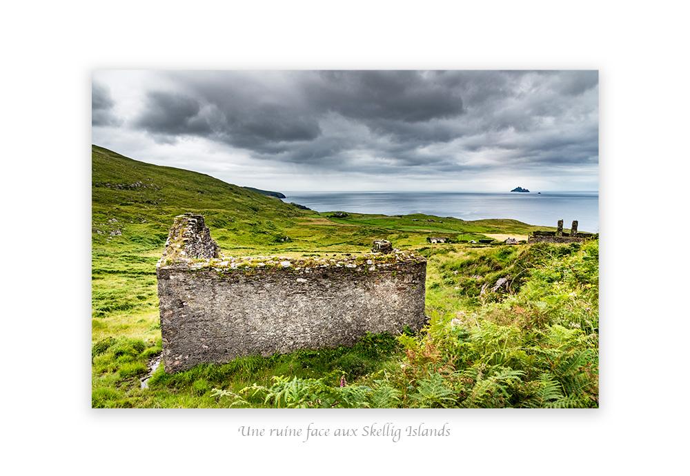 ruine dans le Kerry