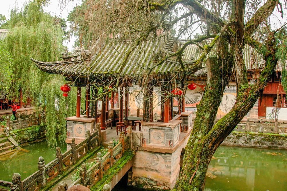 L'intérieur du temple