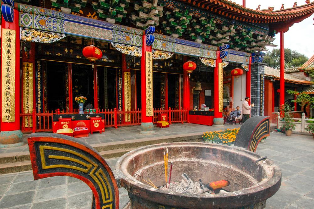Le temple des Bambous
