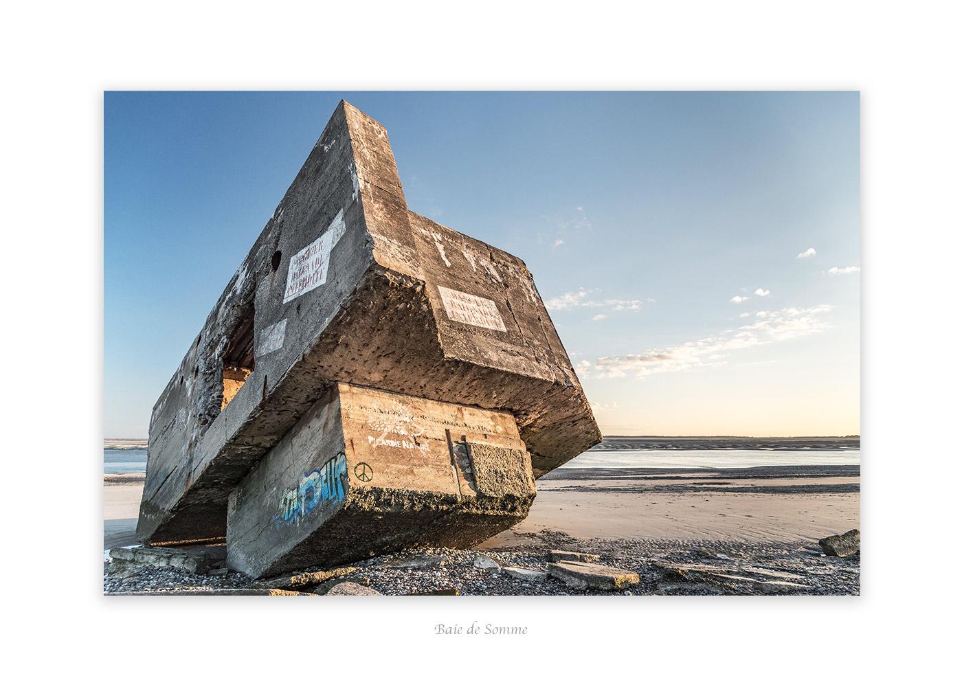 Blockhaus dans la baie de Somme