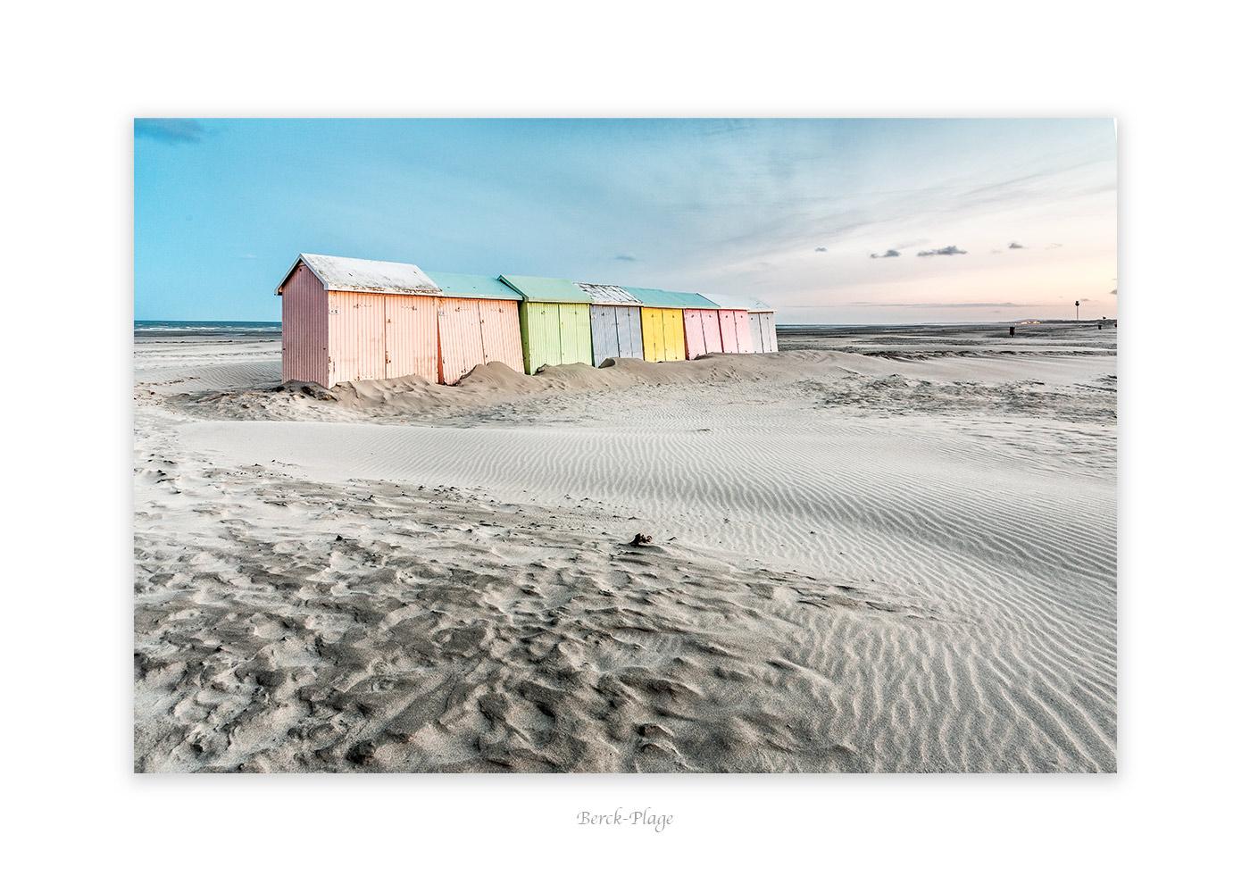 Cabines de plage, Berck