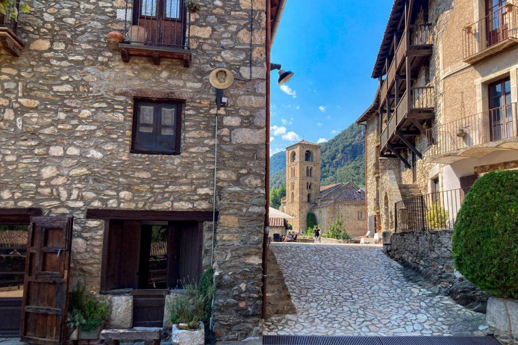 Beget, une vue du village