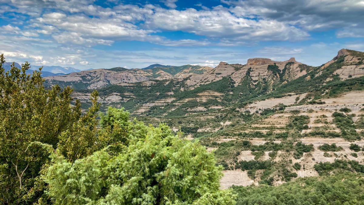 paysage de la Sierra de Gurp