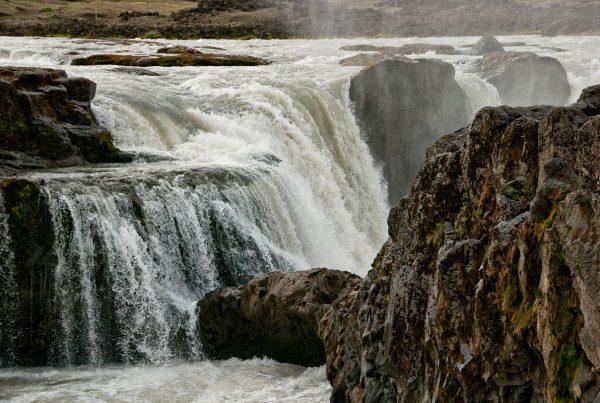 La cascade Hrafnabjargarfoss